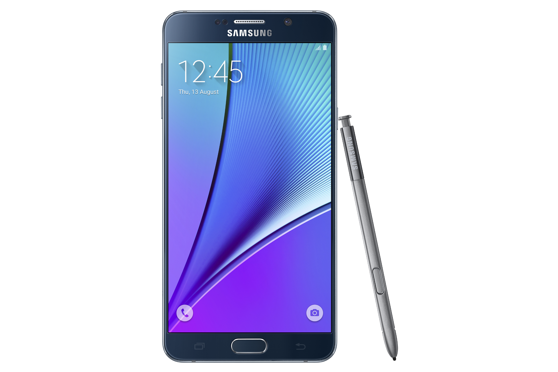 Galaxy Note5 Dual SIM Black front