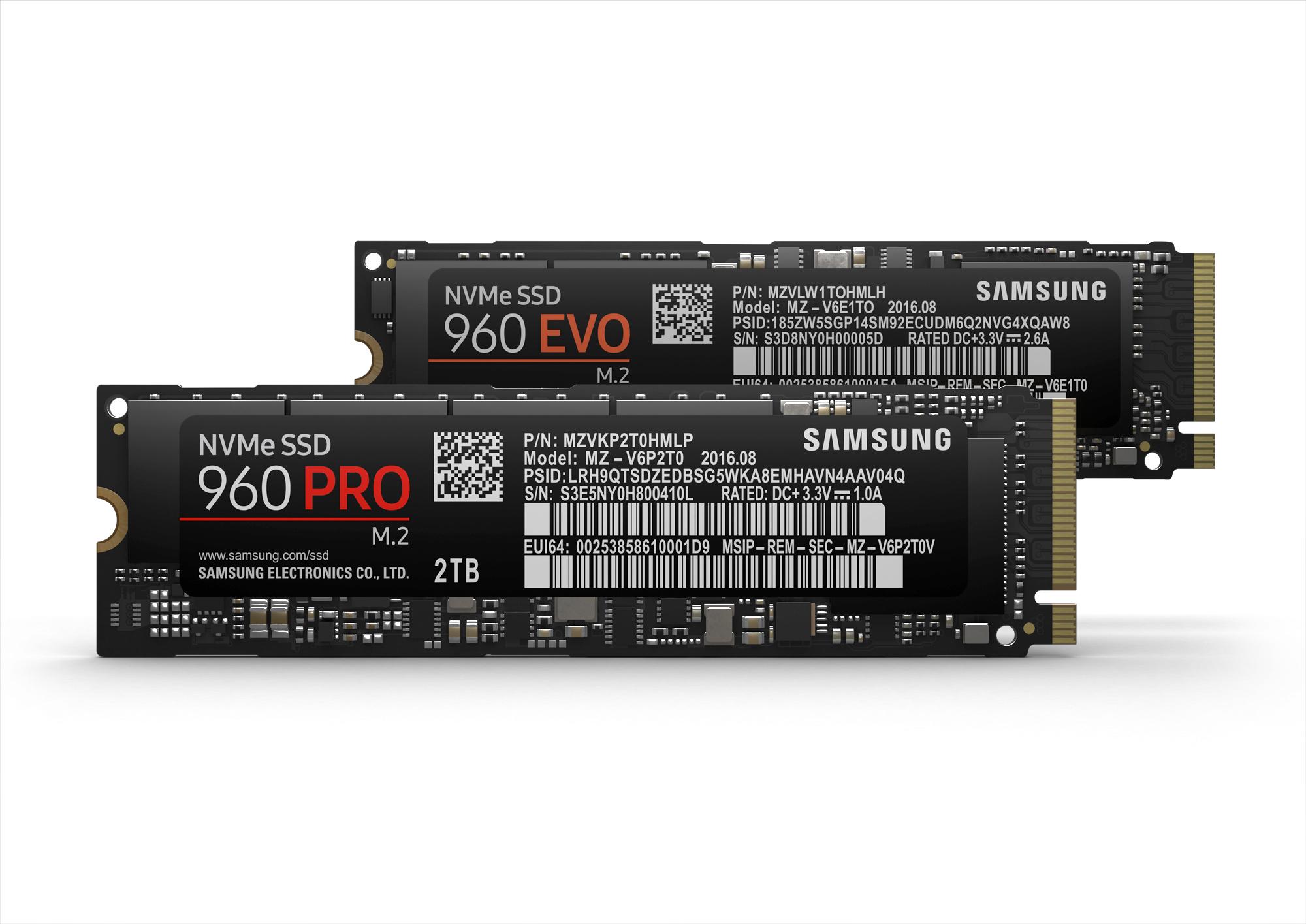 960 PRO and EVO