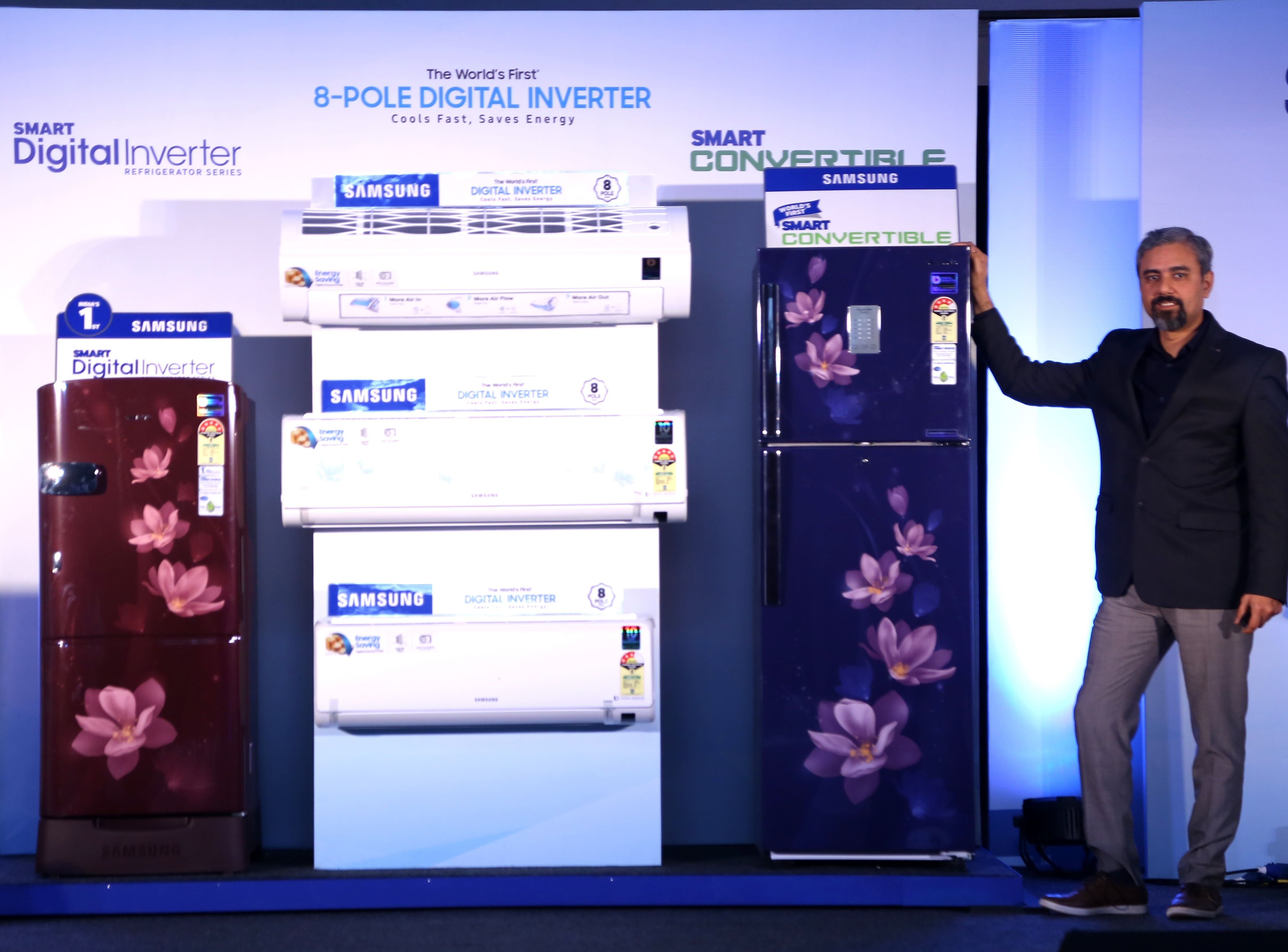 Samsung India Launches Solar Powered Refrigerators Acs