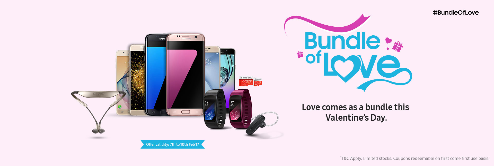 Samsung India Announces Bundle Of Love Offer To Celebrate