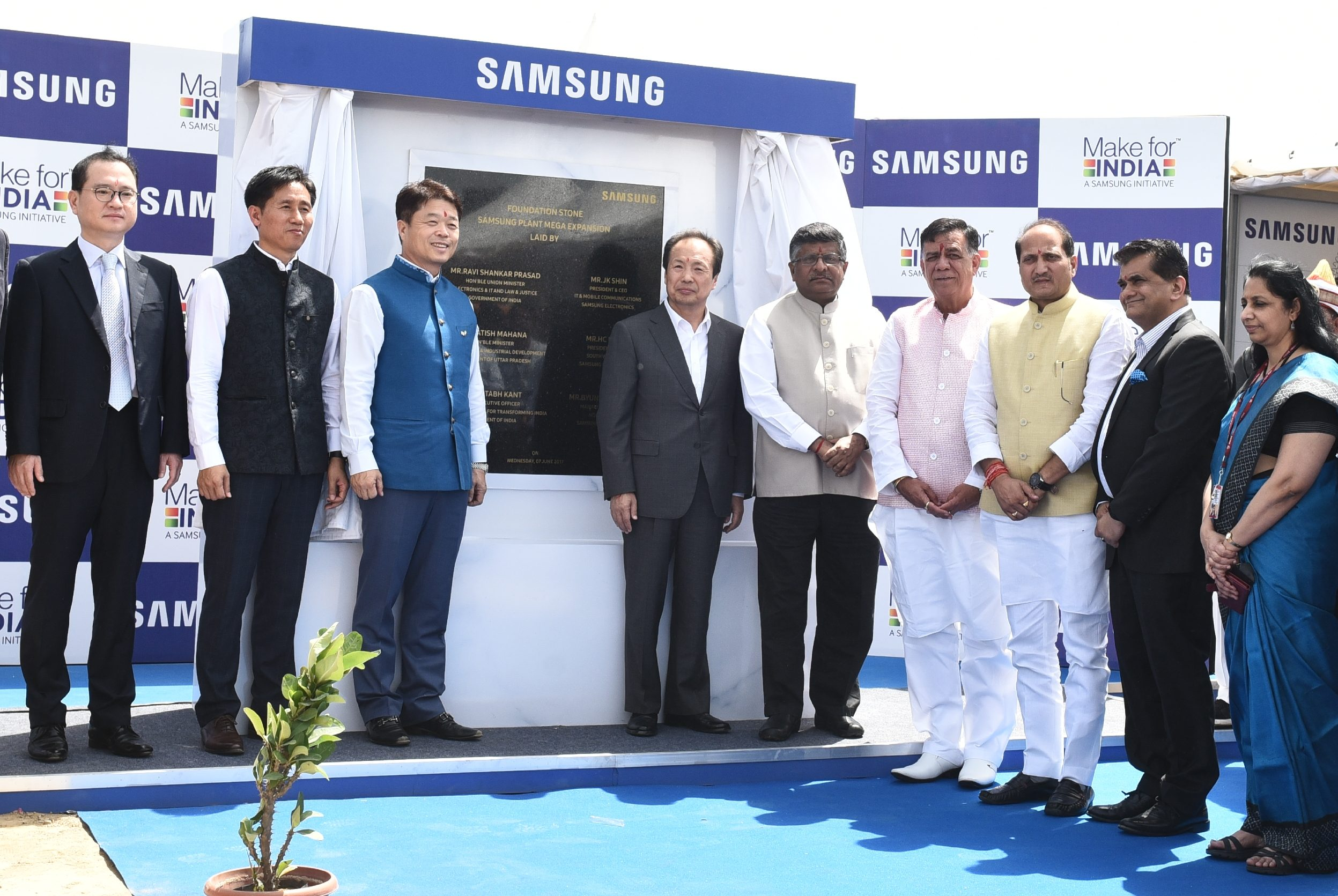 Samsung Electronics Co Ltd Today Announced An Investment Of Inr 4 915 Crore In India The Will Be Used To Add Fresh Capacity At S