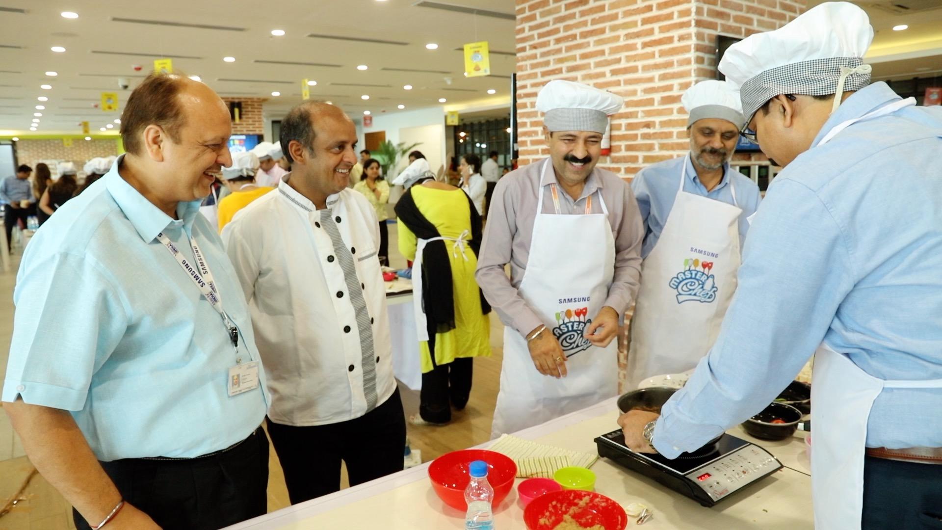 Samsung India Masterchef competition