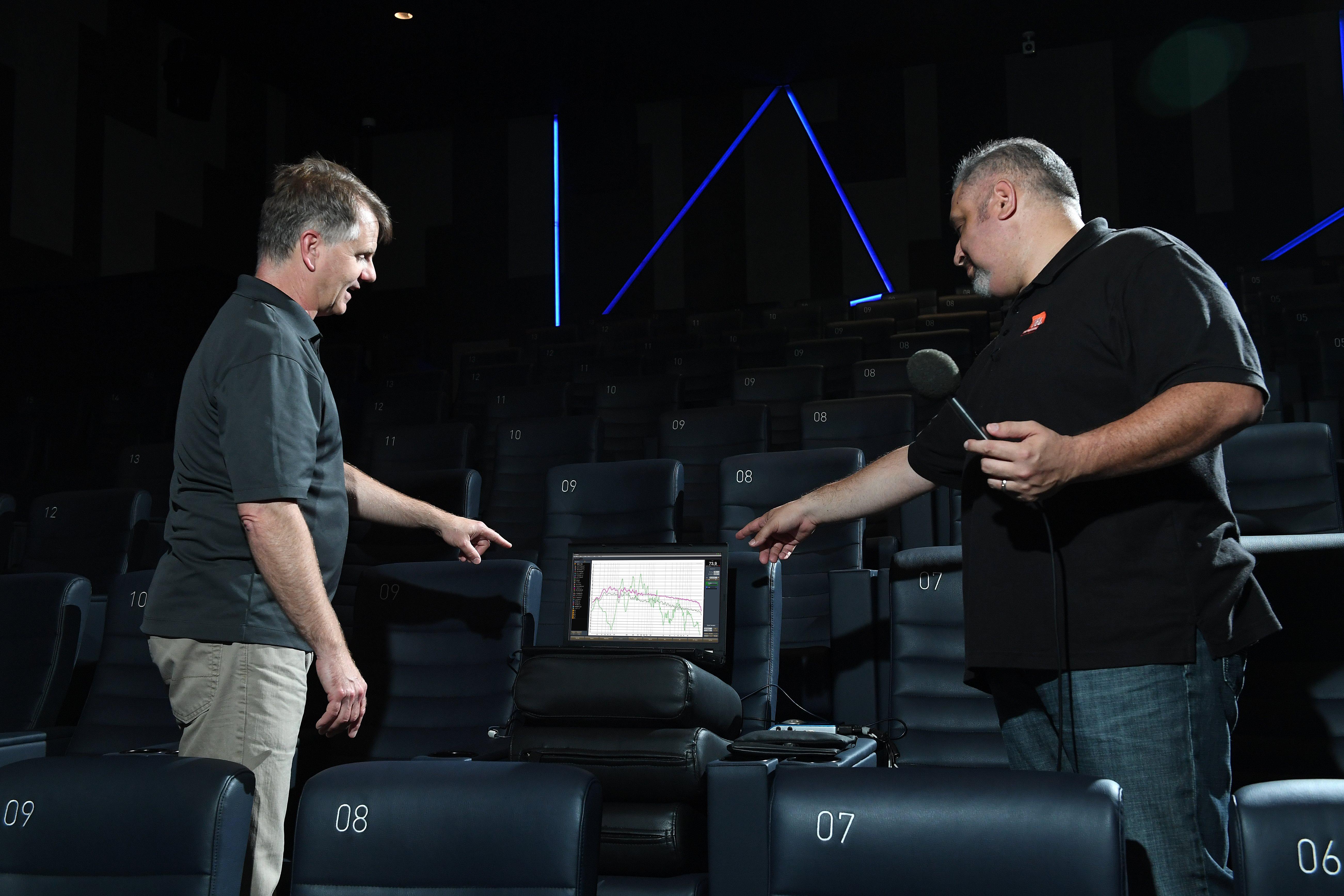 World's First Cinema LED Display