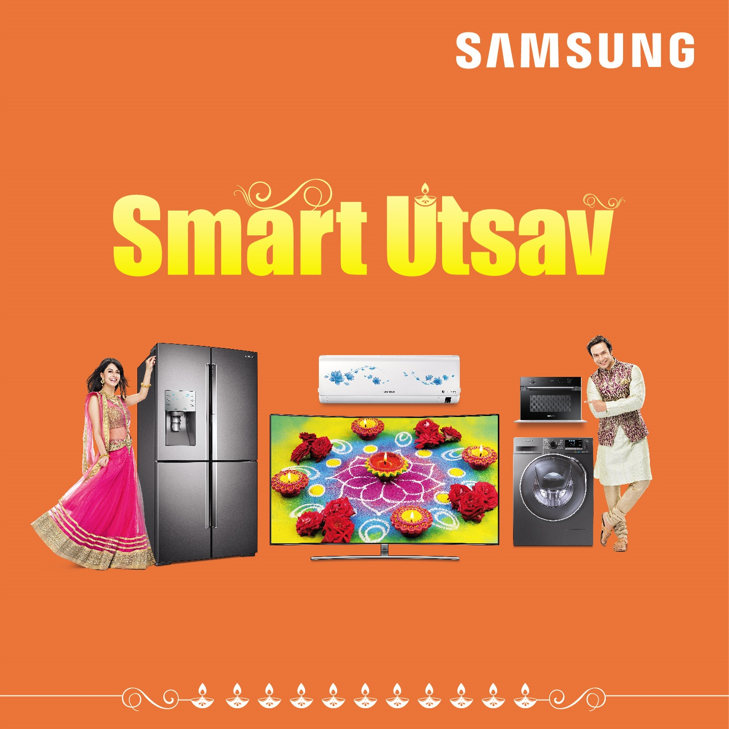 This Festival Season, Avail Exciting Offers with Samsung