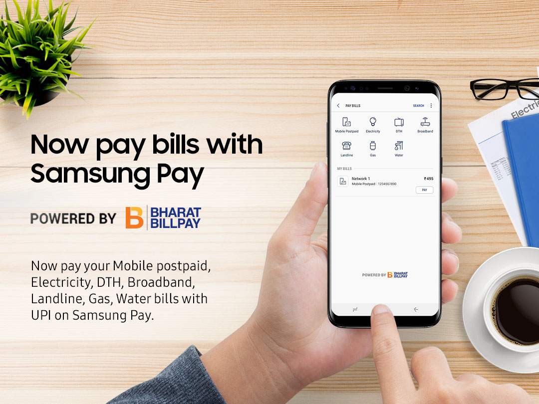 Samsung India Introduces 'Bill Payments' on Samsung Pay, Now