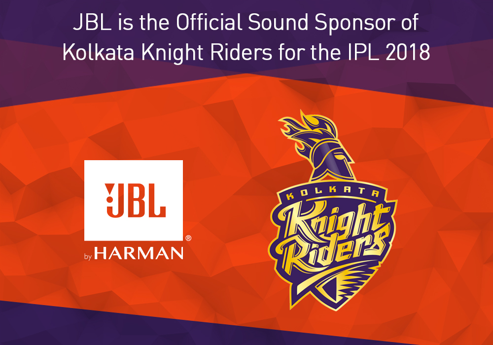 JBL Signs On as Official Sound Sponsor of Kolkata Knight Riders