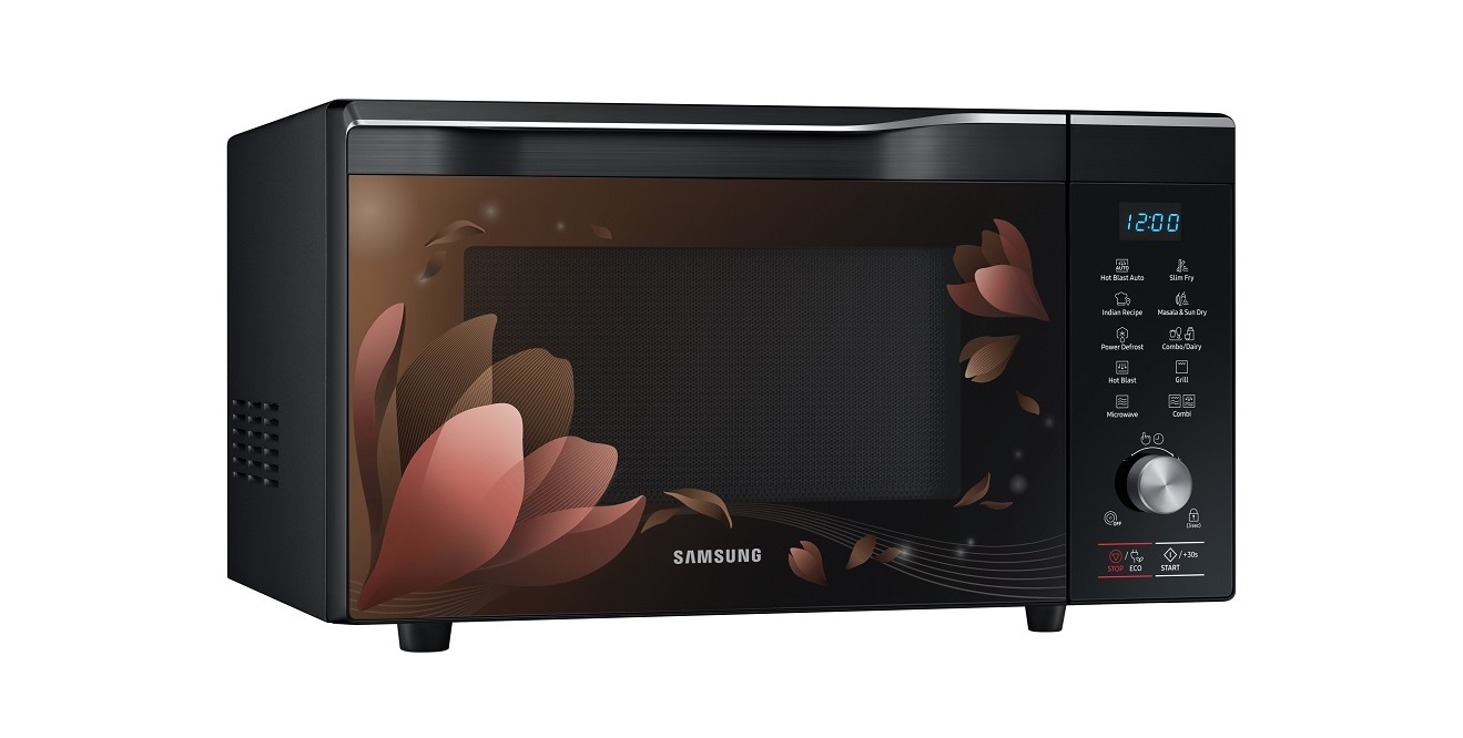 The World S First Masala Tadka And Sun Dry Microwave Has Been Designed For Homemakers Millennials Working Professionals In India Under Samsung