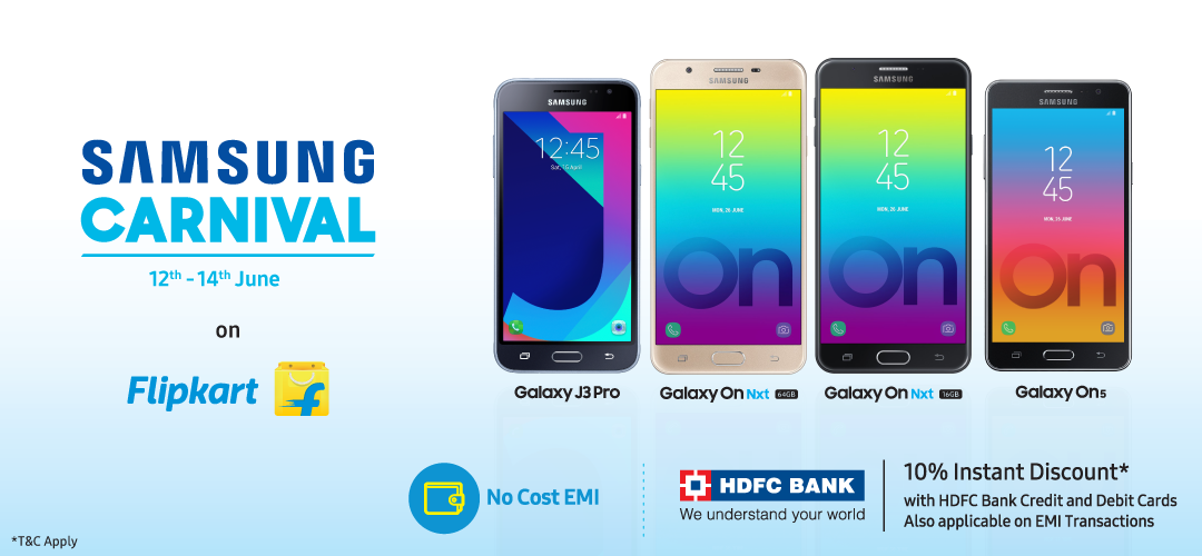 Samsung carnival is back on flipkart get exciting offers and discounts on select samsung - Mobel discount kassel ...