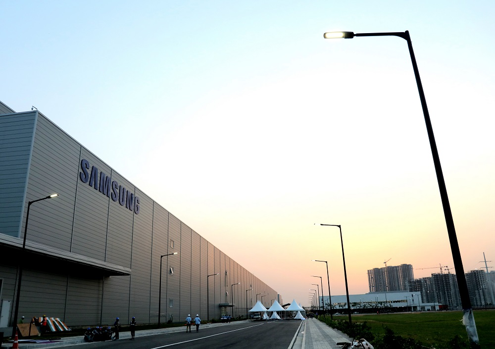 Image result for samsung factory