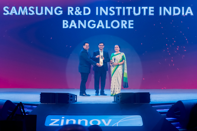 Samsung R&D Centre Bangalore Wins Big at Zinnov Awards 2019