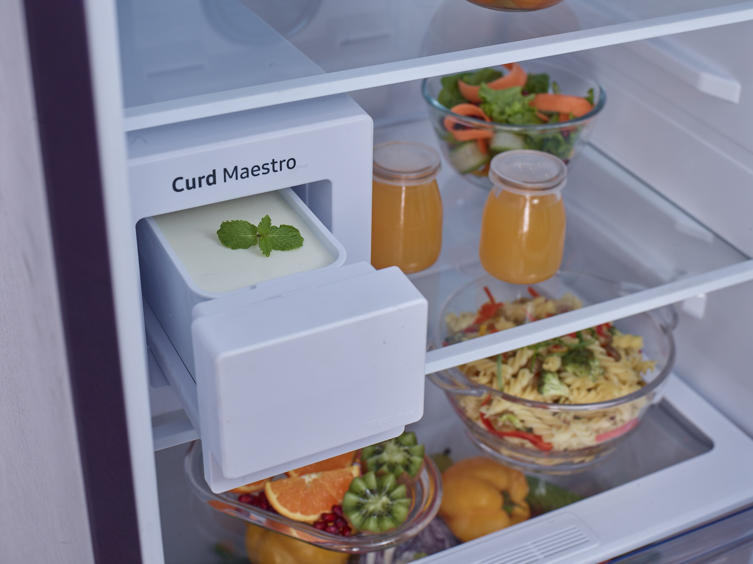 Samsung Launches Curd Maestro World S First Refrigerator That