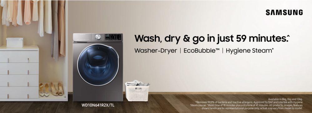 Samsung Brings New Range of AI Washing Machines with Q-Rator Technology; Launches 2020 Washer Dryer Range – Samsung Newsroom India