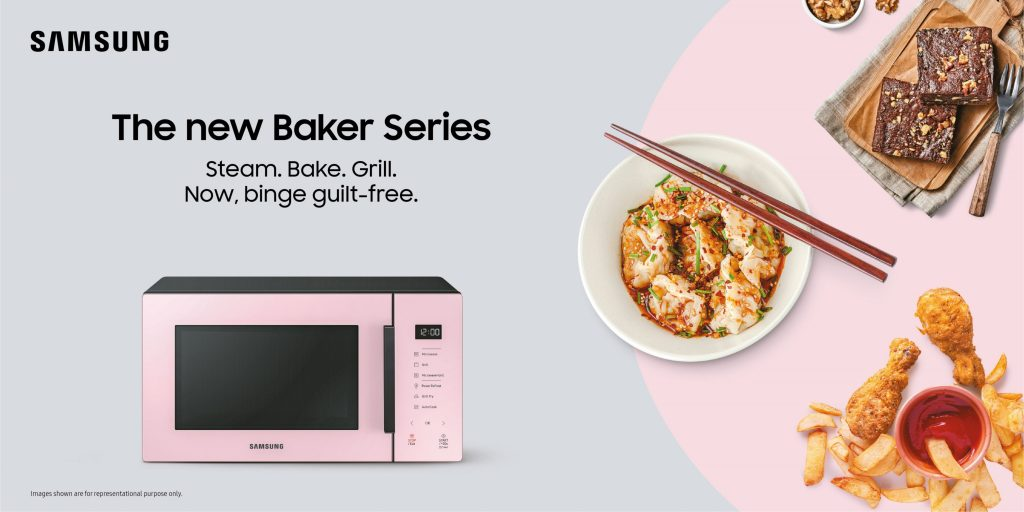 Samsung Baker Series Microwaves To Take