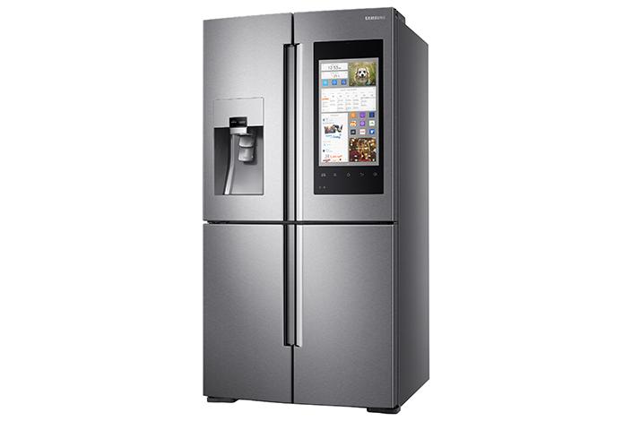 Samsung svela il nuovo frigorifero familyhub e con for Nuovo frigo samsung