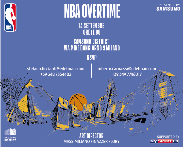 Save the date NBA Overtime