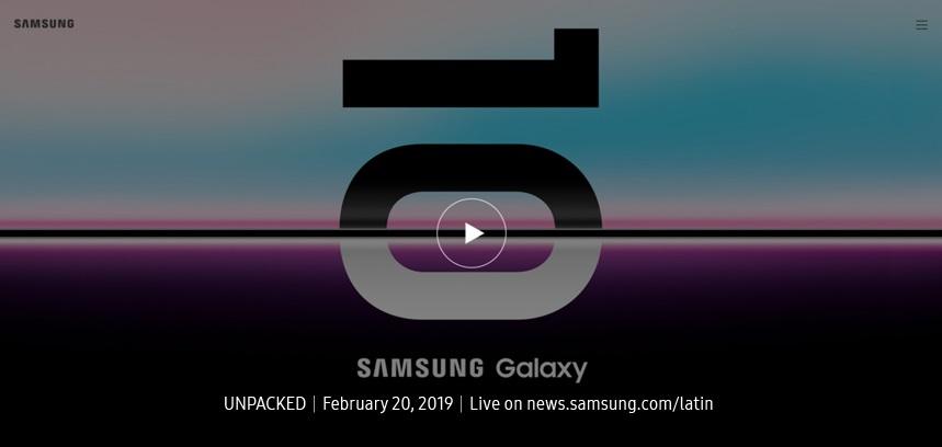 Lanzamiento Galaxy S10 y Galaxy Fold: Transmisión completa del Galaxy Unpacked 2019