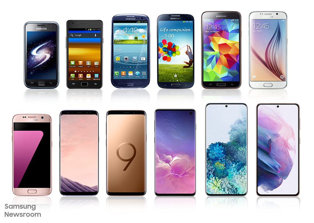 De AMOLED a Space Zoom: una retrospectiva a la historia de innovación de la serie Galaxy S