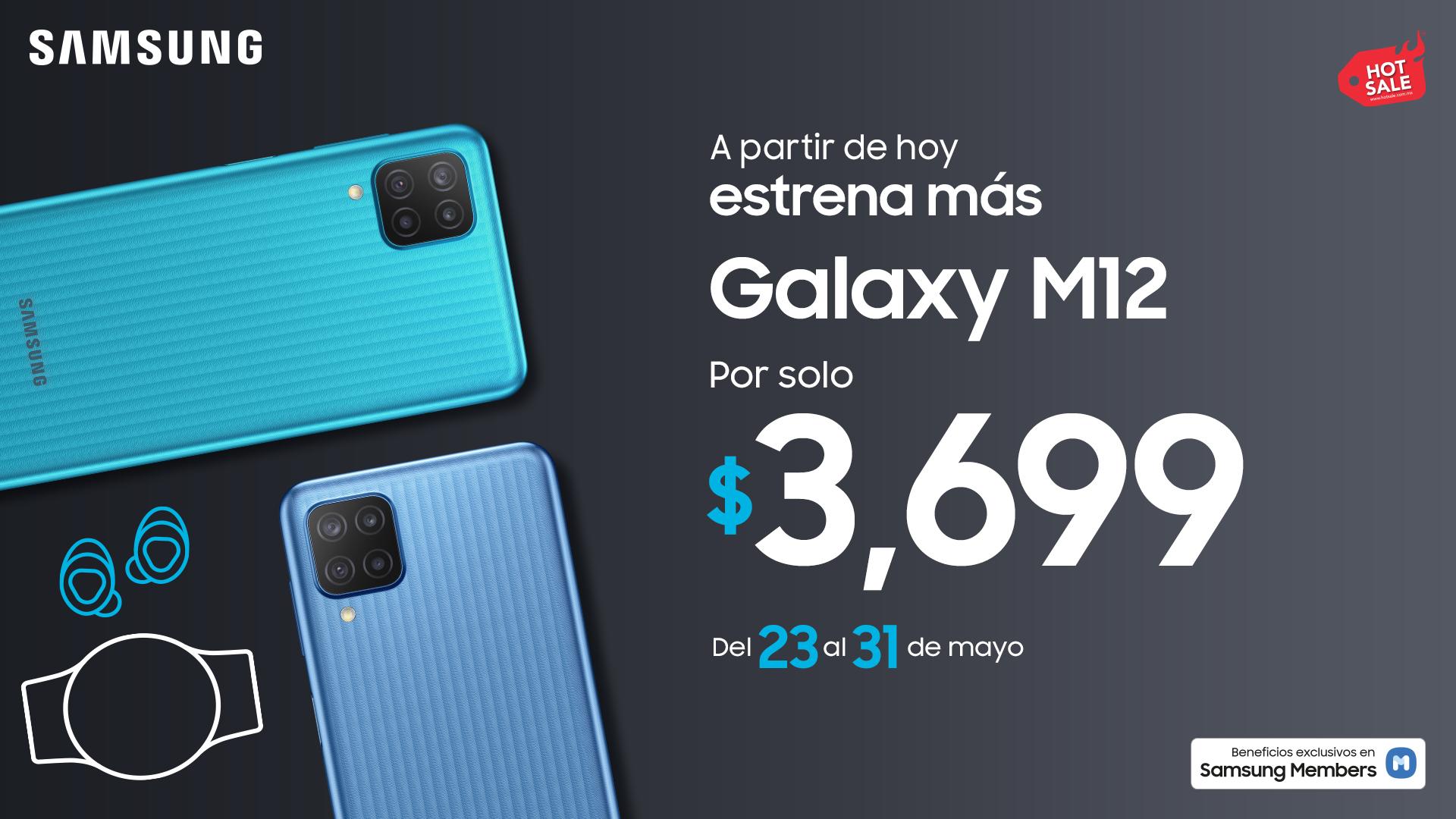 Samsung presenta Galaxy M12 con procesador Exynos 850 octa-core de 8 núcleos