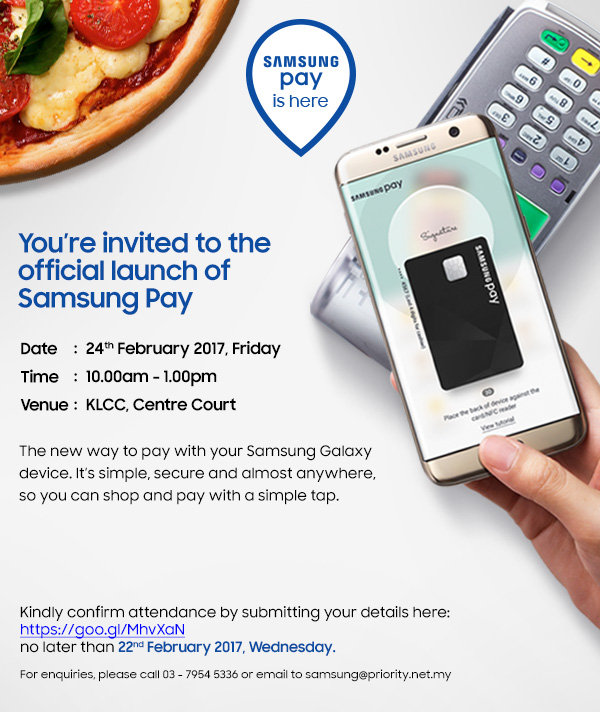 Samsung Pay Launches in Malaysia