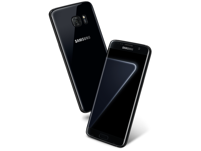 Galaxy S7 edge Now Available in 128GB Black Pearl !