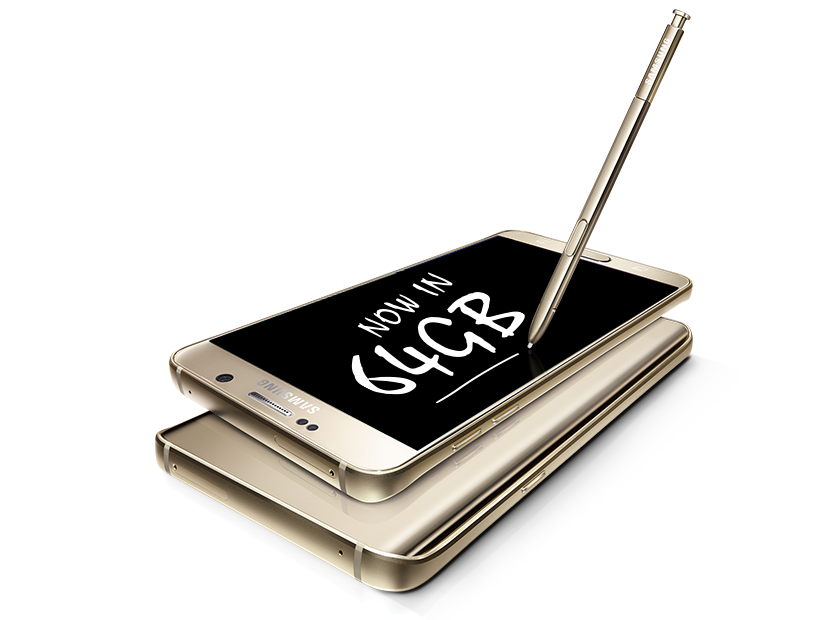 Samsung Galaxy Note5 with 64GB variant now available!