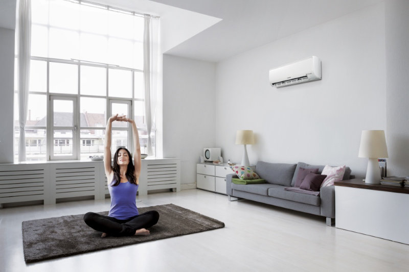 Samsung First S Inverter Air Conditioner With 8 Pole