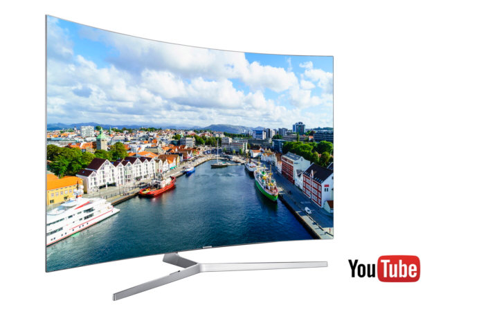 Samsung and YouTube Expand Global HDR Content Offerings on all 2016 Quantum dot TVs