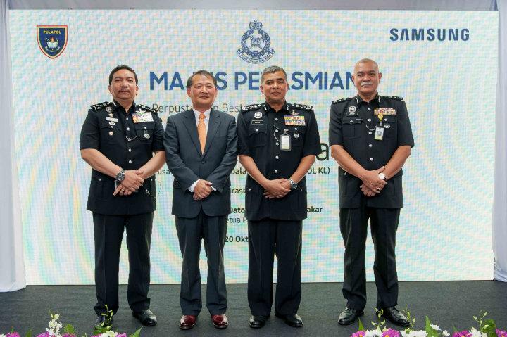 Samsung Launches its Sixth SMART Library for the Pusat Latihan Polis (PULAPOL) Kuala Lumpur