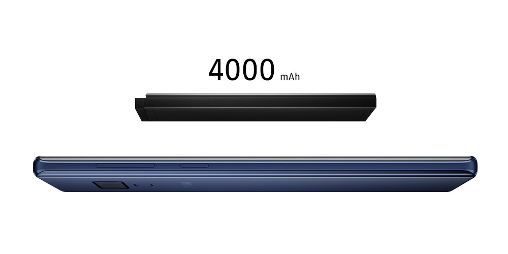 Galaxy Note9 all-day 4000mAh battery