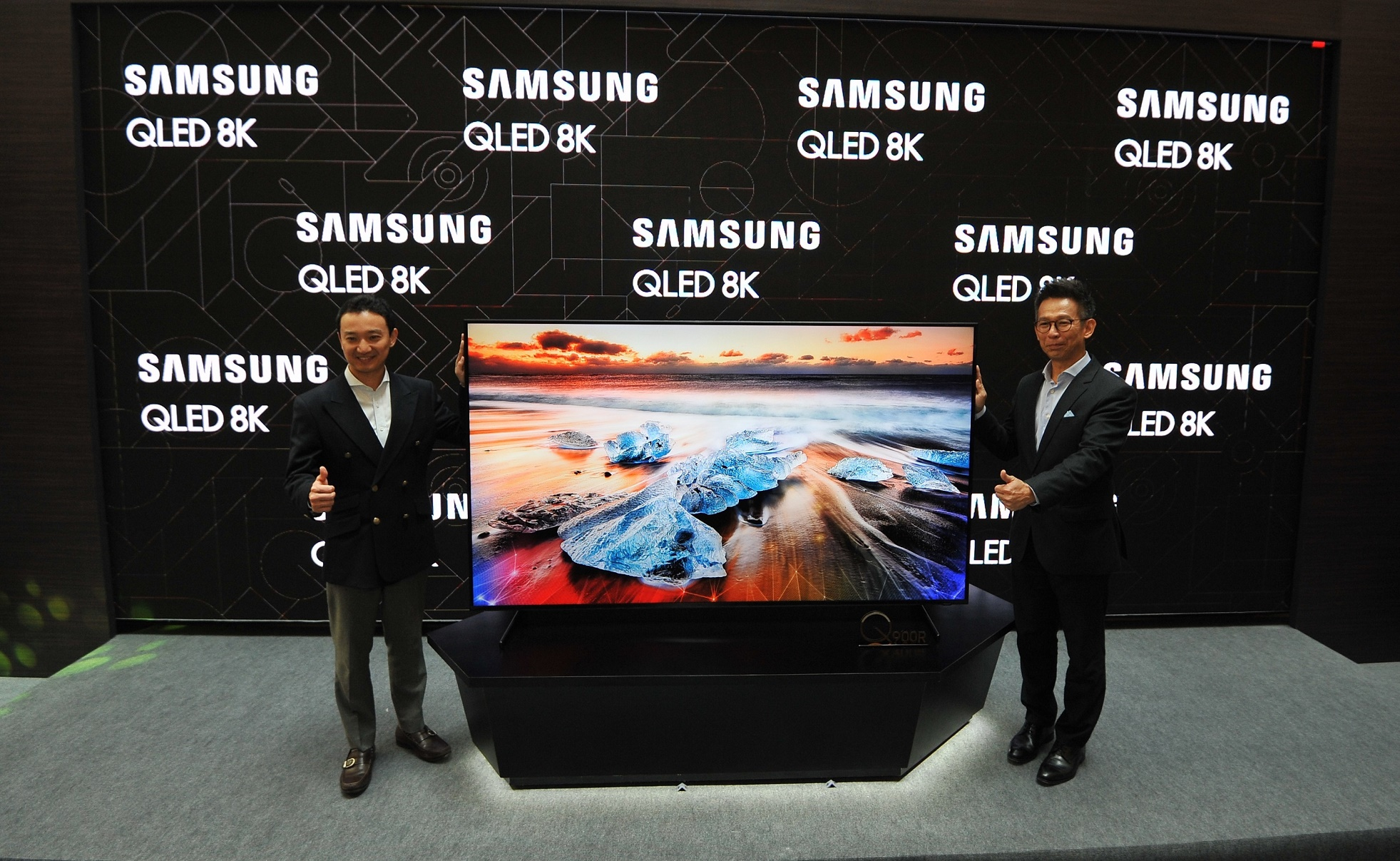 Samsung's First And Biggest QLED 8K TV Set To Mesmerise