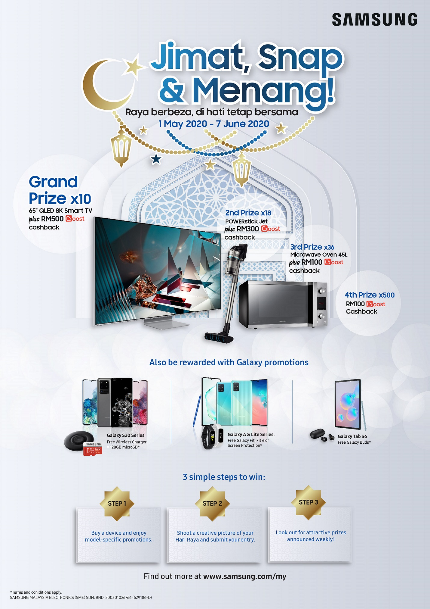 """Samsung's """"Jimat, Snap & Menang"""""""