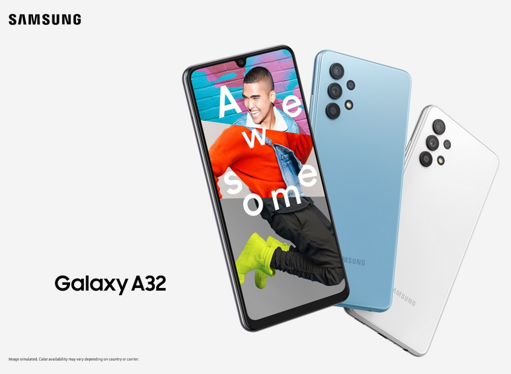 Samsung Galaxy A32、A52 及 A72 价格,3 月 26 日正式发售 5