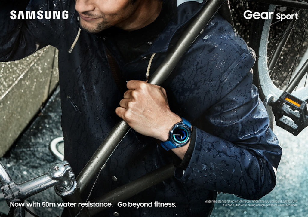 Samsung lanceert de wearables Gear Sport, Gear Fit2 Pro en Gear IconX