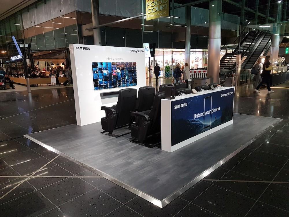 Samsung Galaxy S8 en Galaxy S8+ nu te ervaren op Schiphol Airport