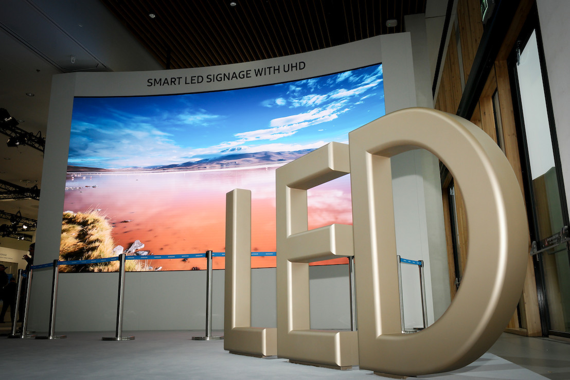 Samsung introduceert vernieuwende indoor LED-oplossingen voor de professionele markt