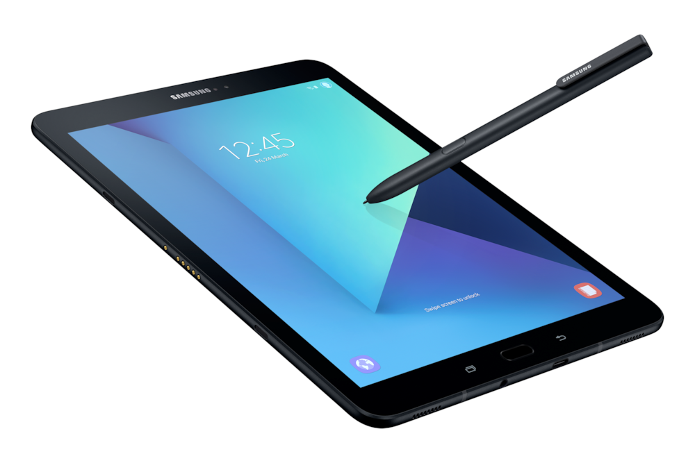 Samsung lanceert Galaxy Tab S3 voor video's en games
