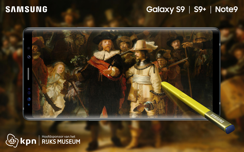 c1d19dc38cc928 KPN en Samsung gaan vanaf vandaag een exclusieve samenwerking aan voor de  Galaxy S9(+) en Note9 om het cultureel erfgoed van Nederland toegankelijker  te ...