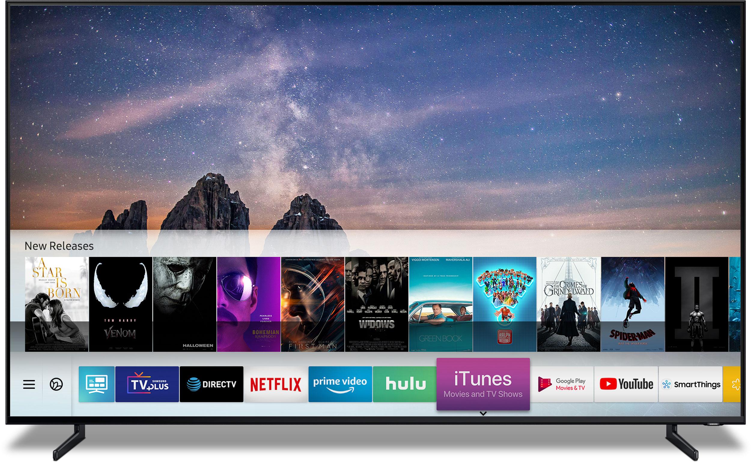 airplay samsung smart tv iphone