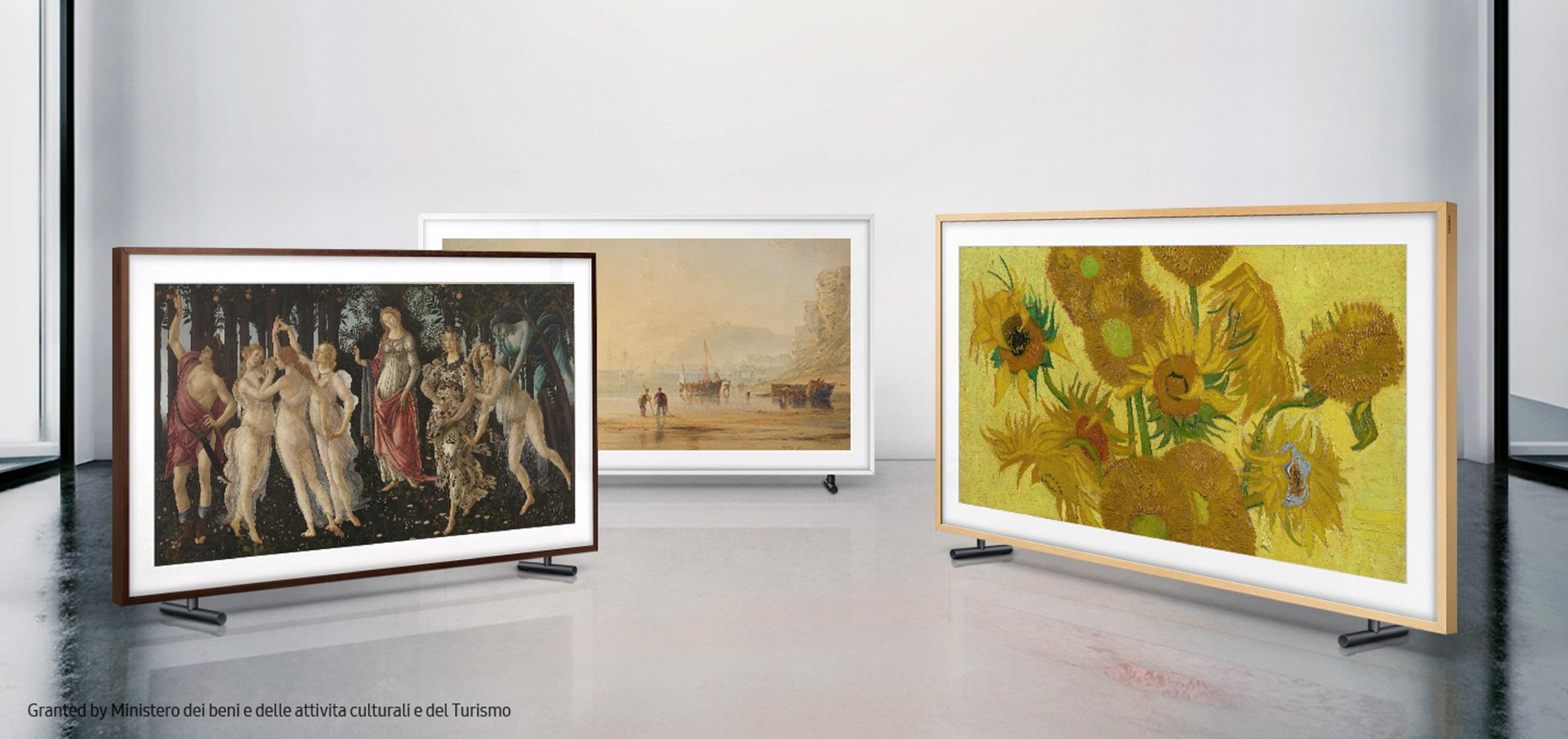 """""""Alegoria wiosny"""" Botticellego, """"Zachód słońca w Hastings"""" Anthony Copley Fielding, """"Słonecznki"""" Vincent van Gogh"""