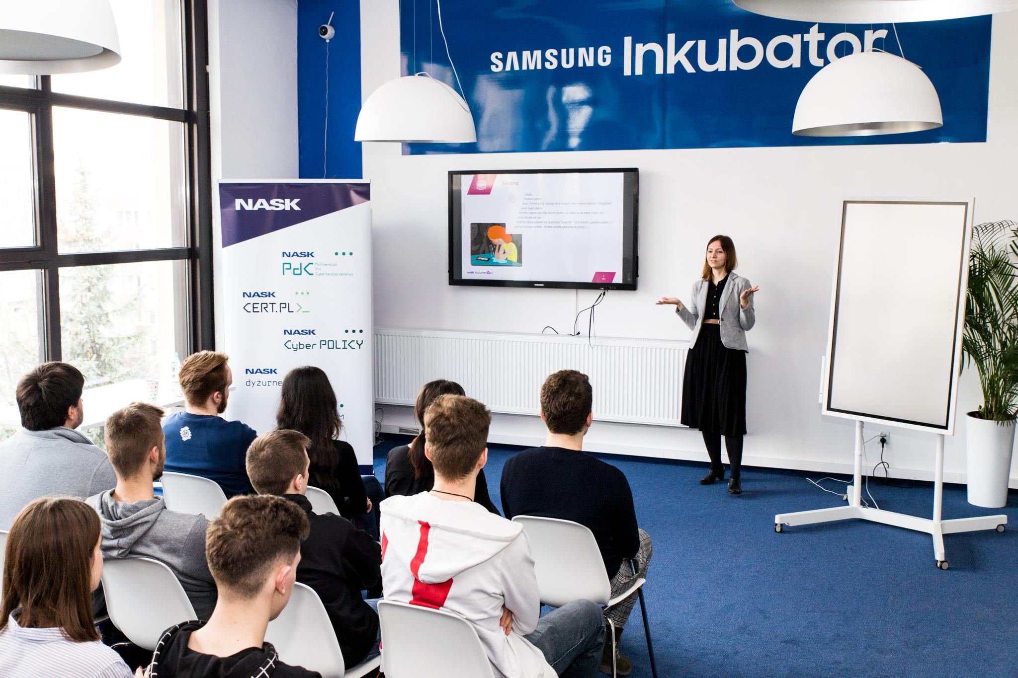 Wykład NASK w Samsung Inkubator Lublin