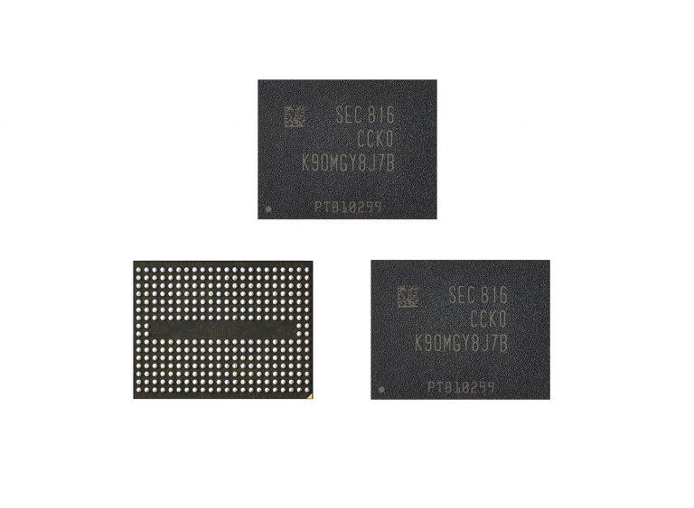 Samsung запускает производство модулей V-NAND