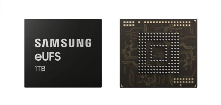 Следующее поколение смартфонов Samsung получит  1 ТБ встроенной памяти