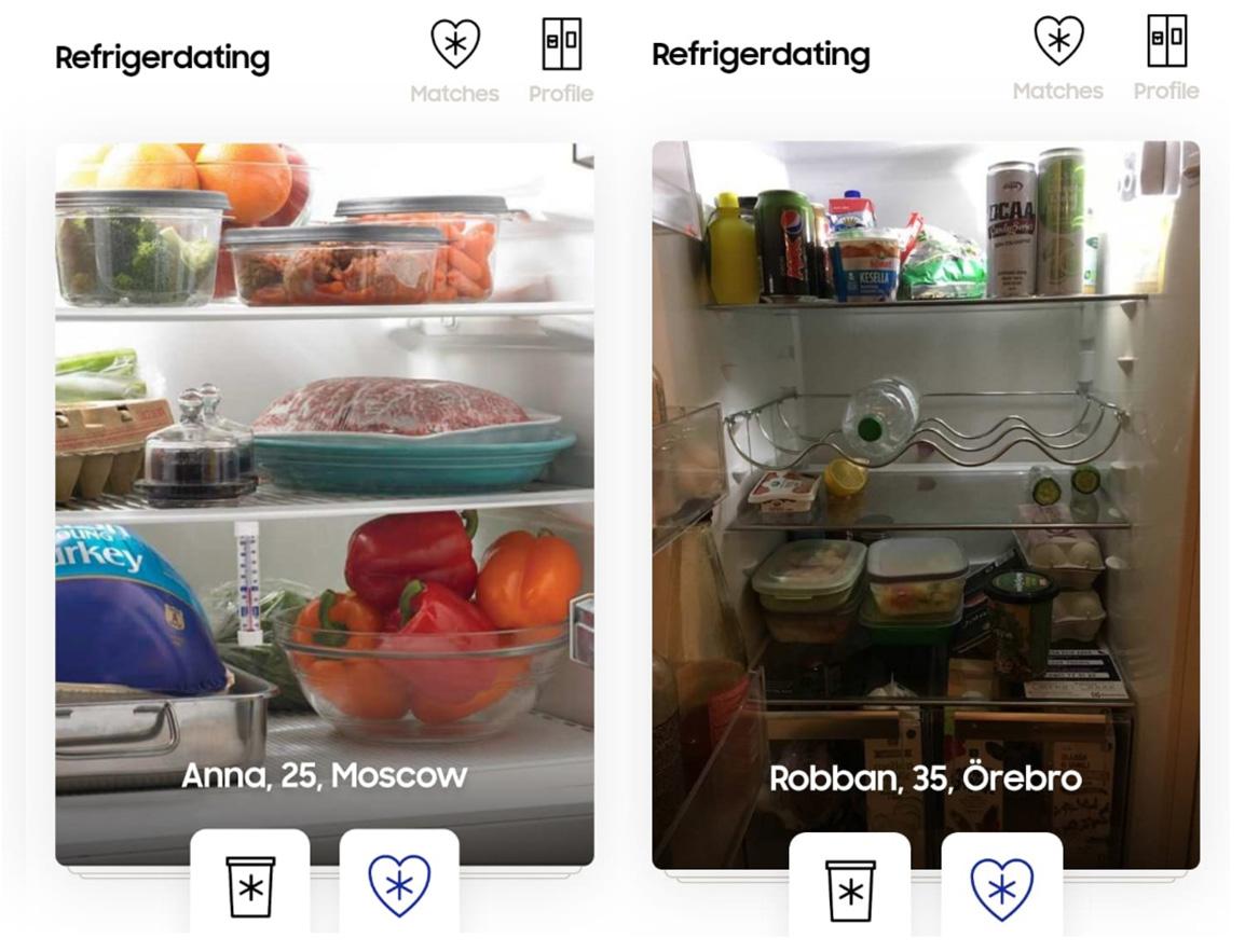 Refrigerdating от Samsung: найди свою любовь с помощью холодильника