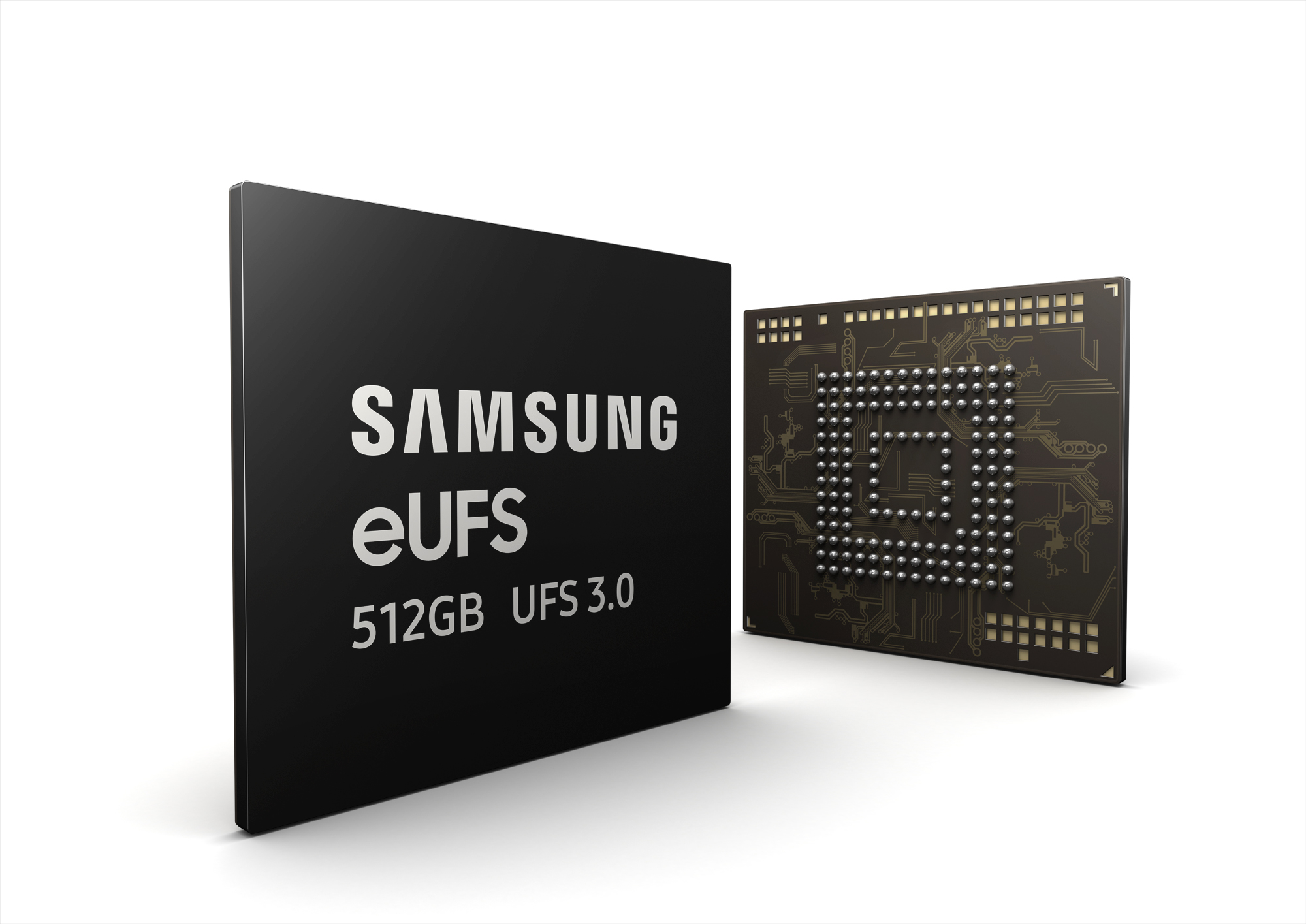 Samsung удваивает скорость работы современных накопителей в смартфонах