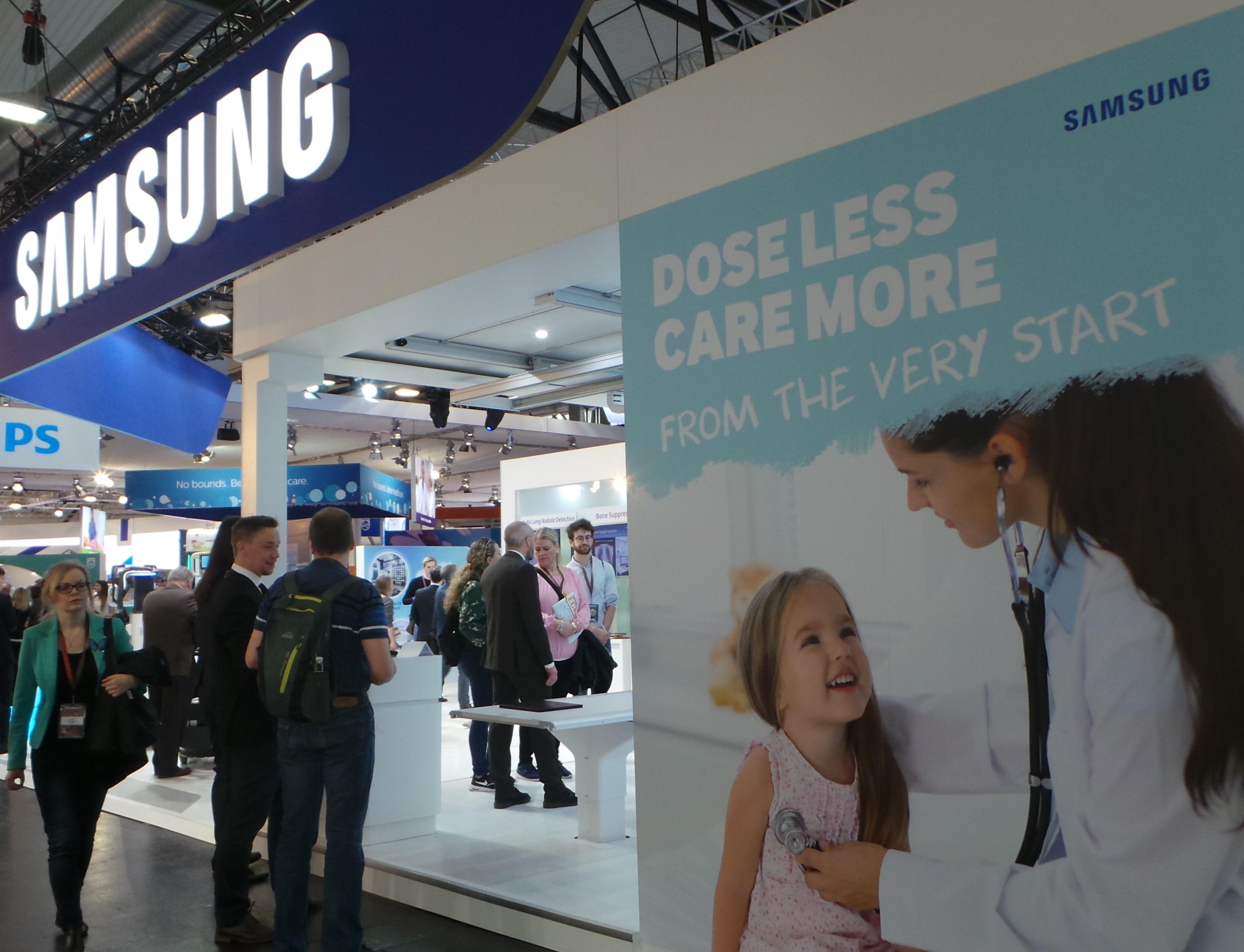 Samsung продемонстрировала новые медицинские технологии