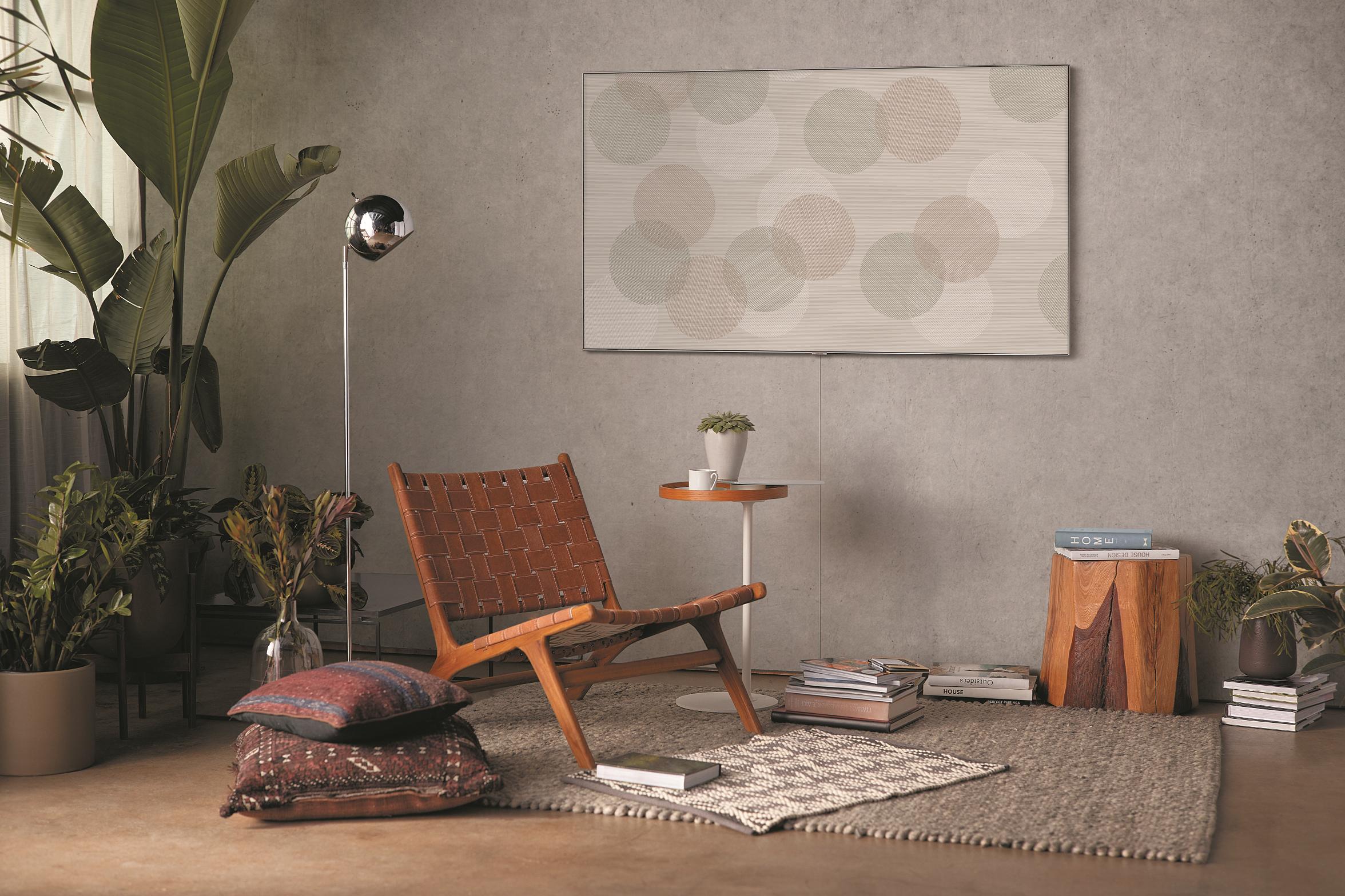 Гостиная как художественная галерея: Samsung представляет обновленный режим Ambient на QLED-телевизорах