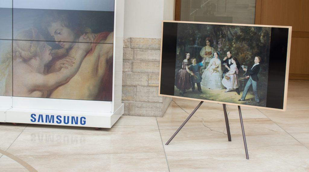 Шедевры Эрмитажа появятся в «Магазине Искусства» на телевизорах Samsung The Frame