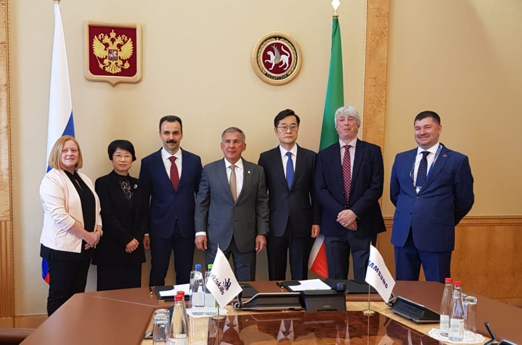Samsung стала Генеральным партнёром мирового чемпионата WorldSkills Kazan 2019