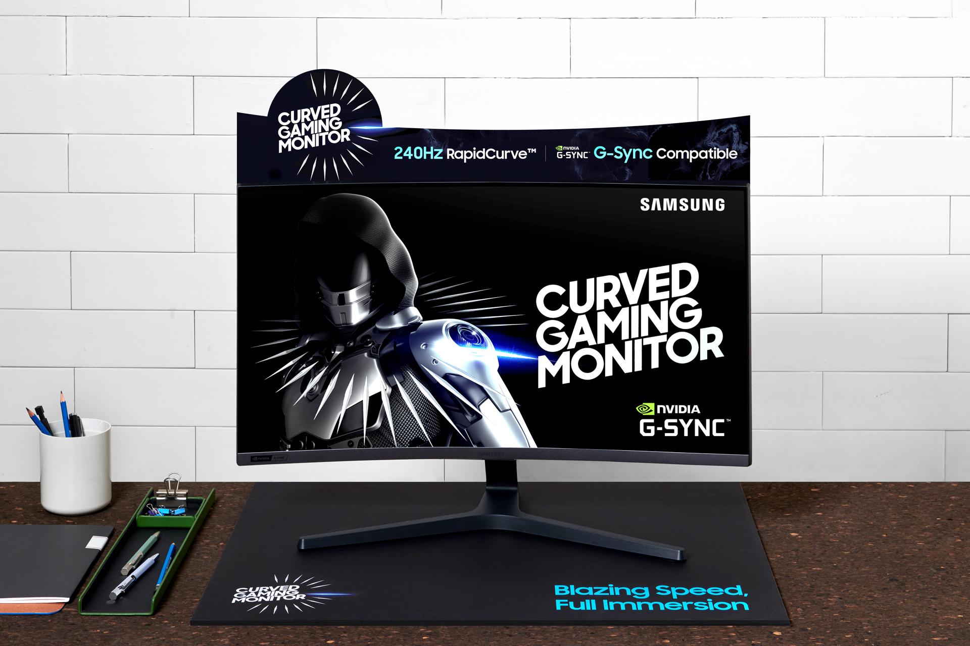 Игровой монитор Samsung CRG5 уже в России