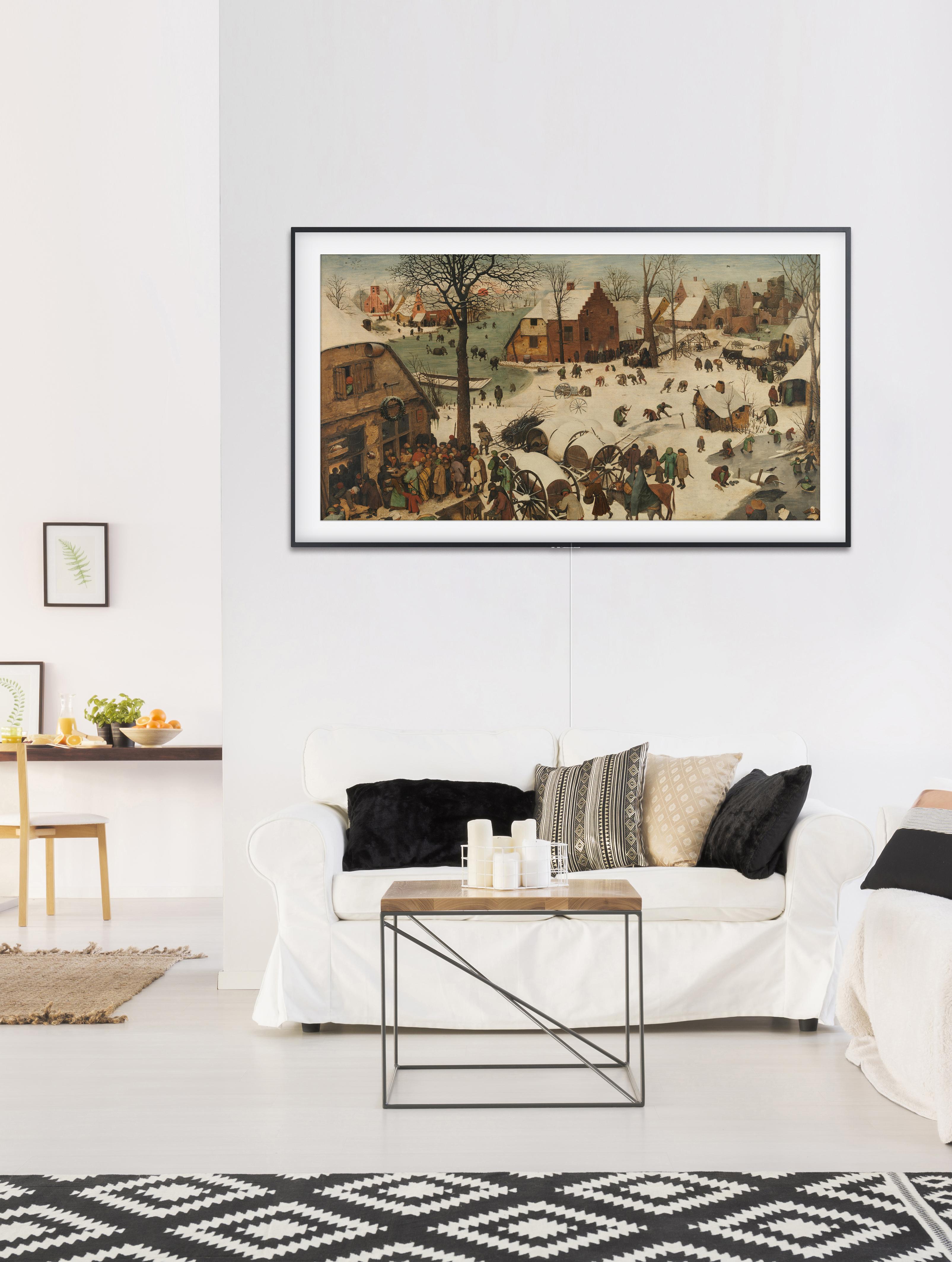 Картины Брейгеля, Рубенса и Ван Гога доступны на интерьерных телевизорах The Frame